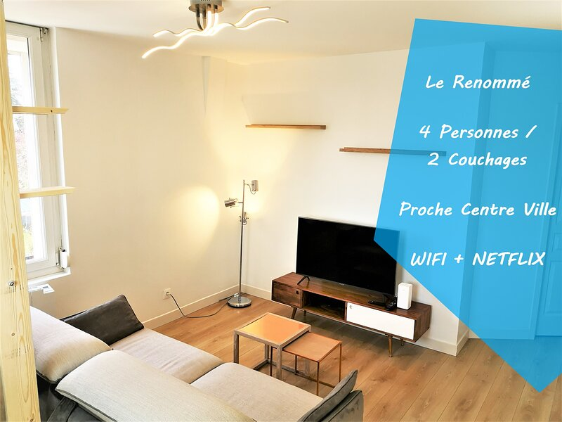 ★★Le Renommé Soissons par Picardie Homes♥♥, holiday rental in Chauny