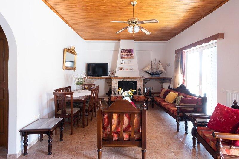 Traditional Greek Vilage Livingroom