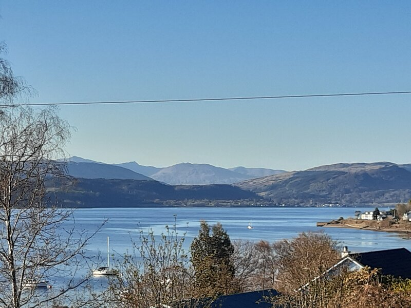 Loch Fyne. Brand new and very spacious 3 bedroom lodge,set in stunning location., holiday rental in Loch Eck
