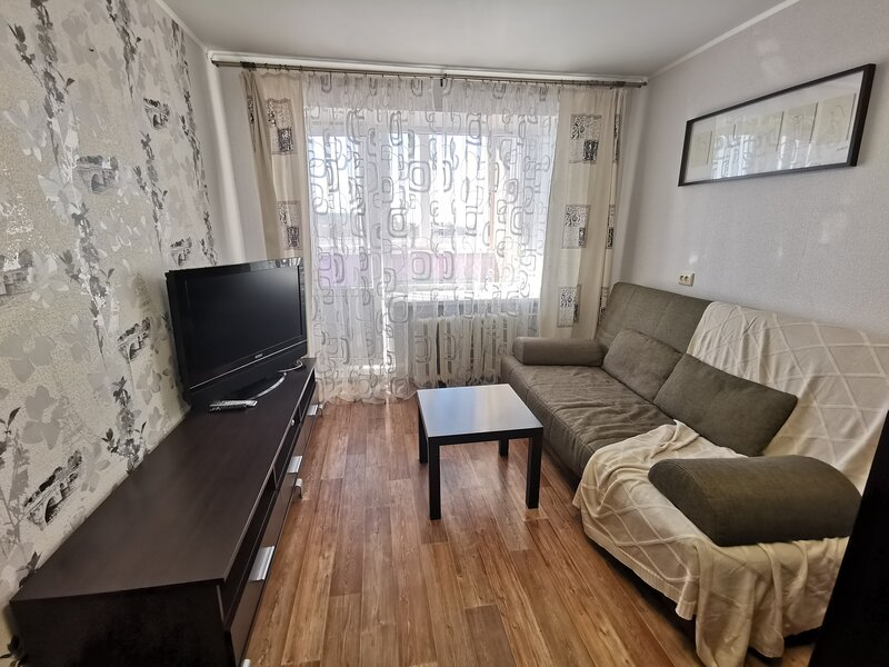Просторная светлая однокомнатная квартира в Уфе, alquiler vacacional en Republic of Bashkortostan