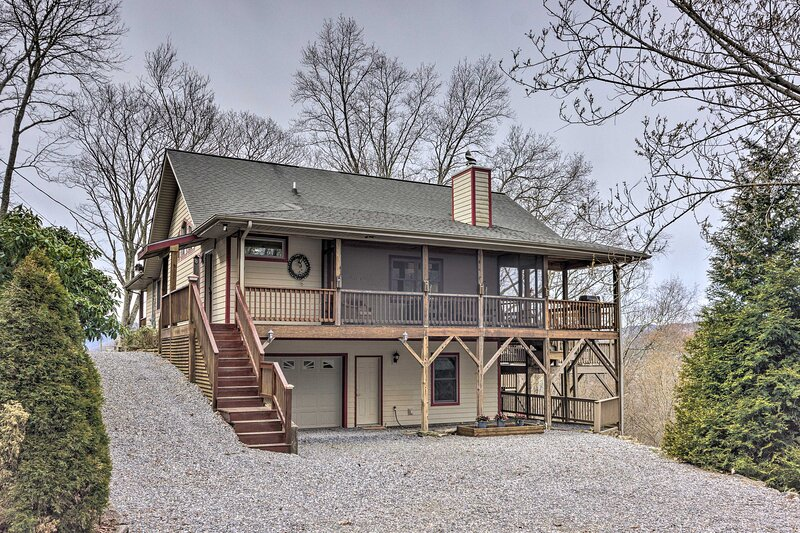 Home Exterior | Multi-Level Deck