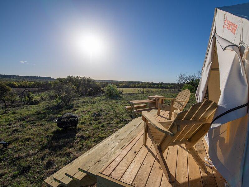 Tentrr Signature Site - Texas 1873 – semesterbostad i Bangs