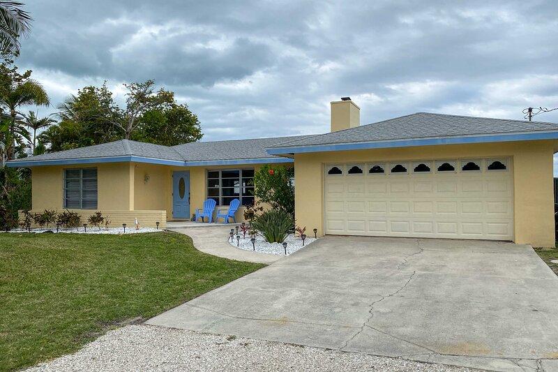 Secluded Bokeelia House w/ Pool & Ocean View!, holiday rental in Bokeelia