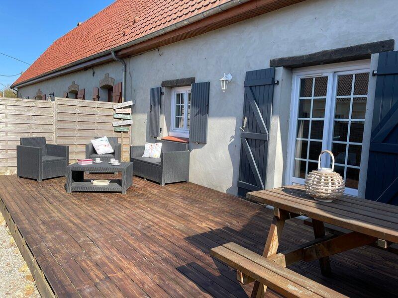 ' la Roucherie' gîte de charme en côte d'opale classé 3 étoiles, holiday rental in Licques