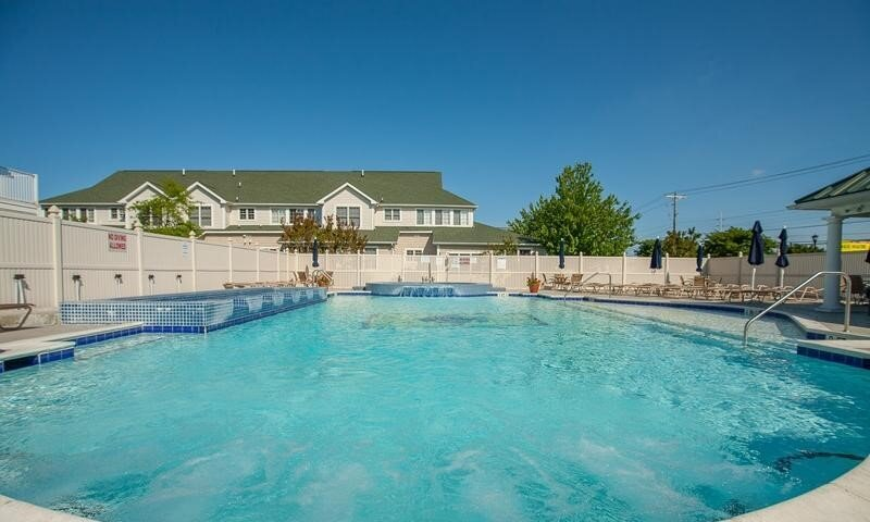 Welcome to The Tides!  Lovely community pool and hot tub.