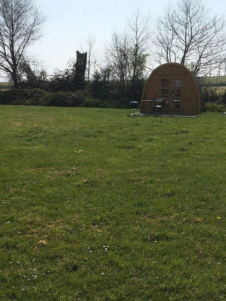 Captivating 1-Bed pod in Passais-Villages, holiday rental in Brece