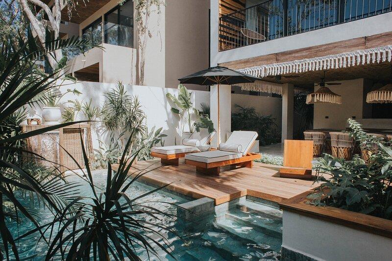 Modern & Luxury 3BR Penthouse | Aldea Zama | Private Hot Tub | Nature Vibes | Wi, alquiler de vacaciones en Tulum Beach