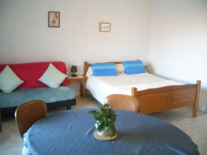 Dans résidence récente, T1 orienté Ouest au 1ER étage avec asc..., holiday rental in Mouxy