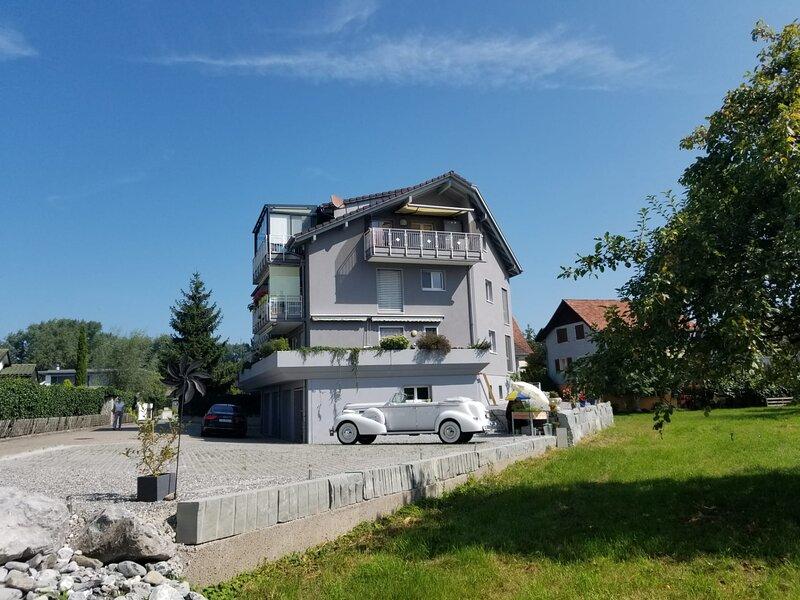 Schönes Studio direkt am Bodensee in Altenrhein, location de vacances à Lommenschwil