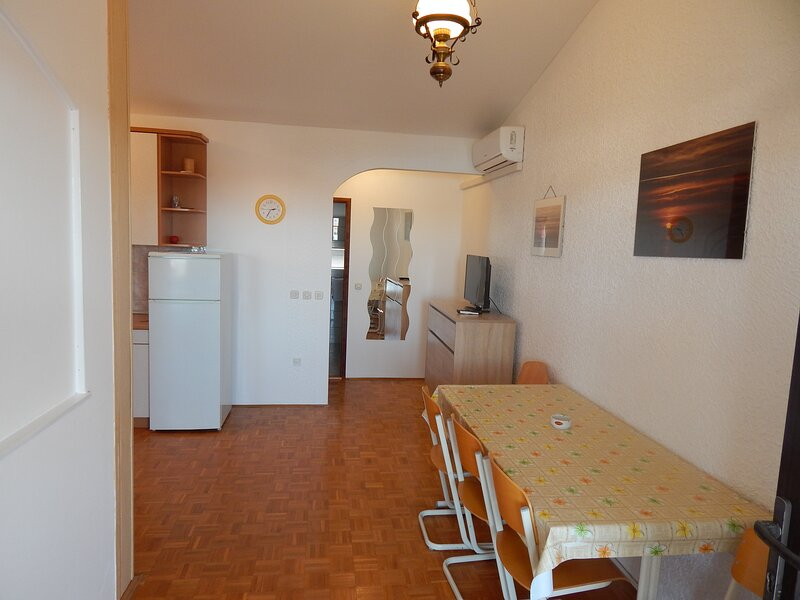 C1 Apartment with relaxing view, near Novalja, holiday rental in Caska