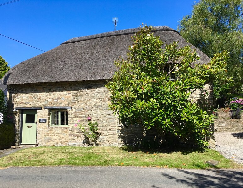 Delightful thatched cottage in tranquil small rural village in South Devon, vacation rental in Loddiswell