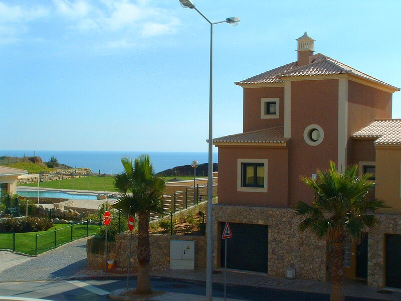 Villa 1 is on the end plot with great sea views and private pool