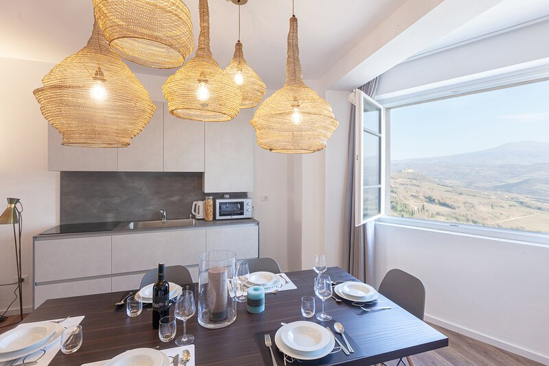Apartment Coriandolo in Montalcino, Tuscany, alquiler vacacional en Castelnuovo dell'Abate