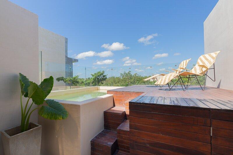 Amazing terrace to enjoy a nice sunny day.