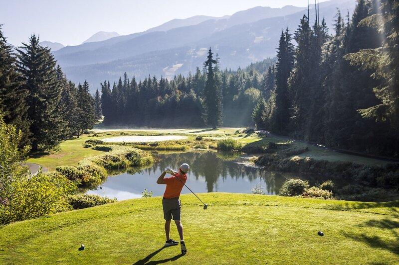 World Class Golf Credit: Tourism Whistler/Justa Jeskova