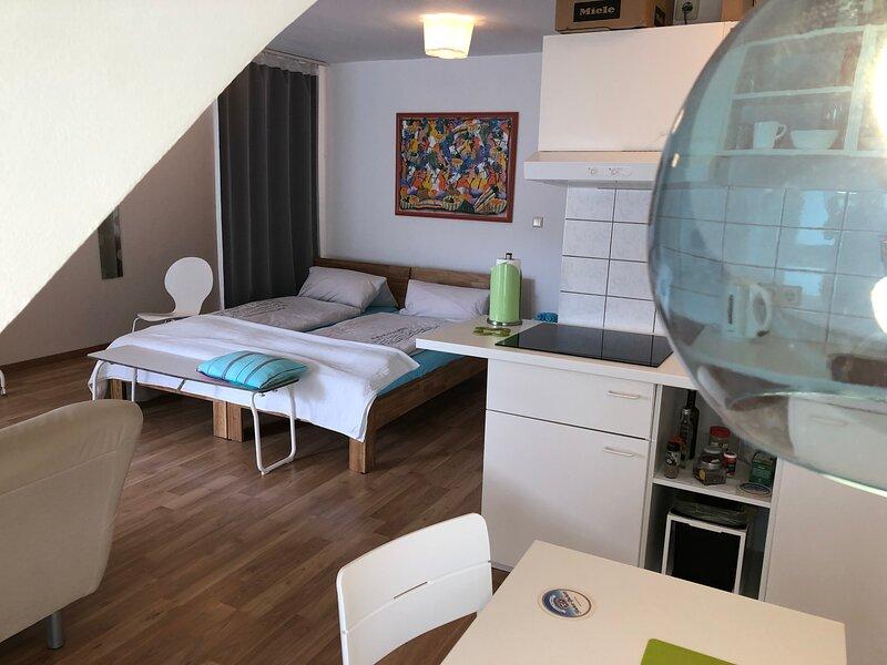 Apartment Ochsenfurt 36qm Balcony WiFi, Ferienwohnung in Sommerach
