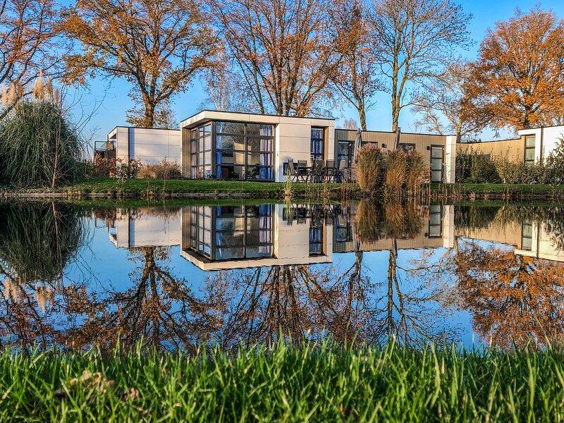 Modernes Ferienhaus Anker am Veluwemeer, holiday rental in Vierhouten