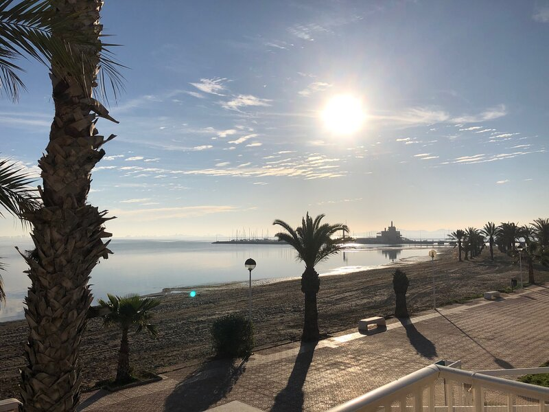 Front line Penthouse Apartment with amazing views, holiday rental in Los Urrutias