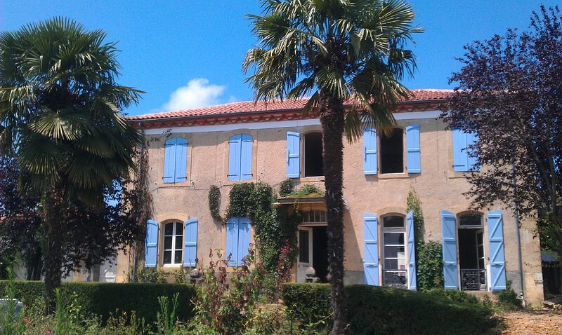 Spacious old 'Maison de Maitre' house with large gardens and amazing views, holiday rental in Monlaur-Bernet