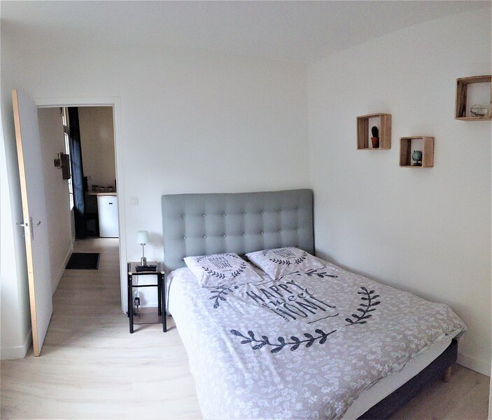 Charmant T2  centre ville rez-de-jardin au calme, vacation rental in Val-d'Ize