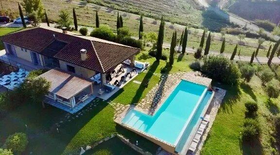 Argillosacountryhouse villa uphill in Tuscany Maremma South Region, holiday rental in Manciano