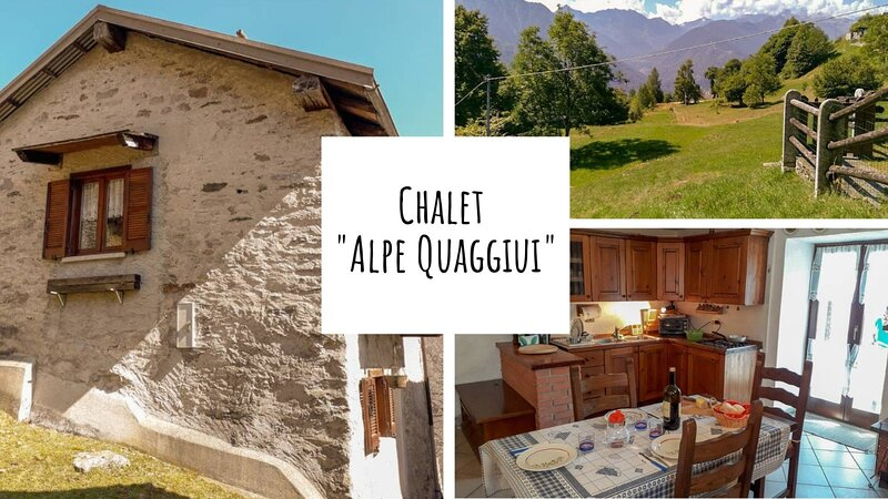 Chalet Alpe Quaggiui, holiday rental in Fornarelli