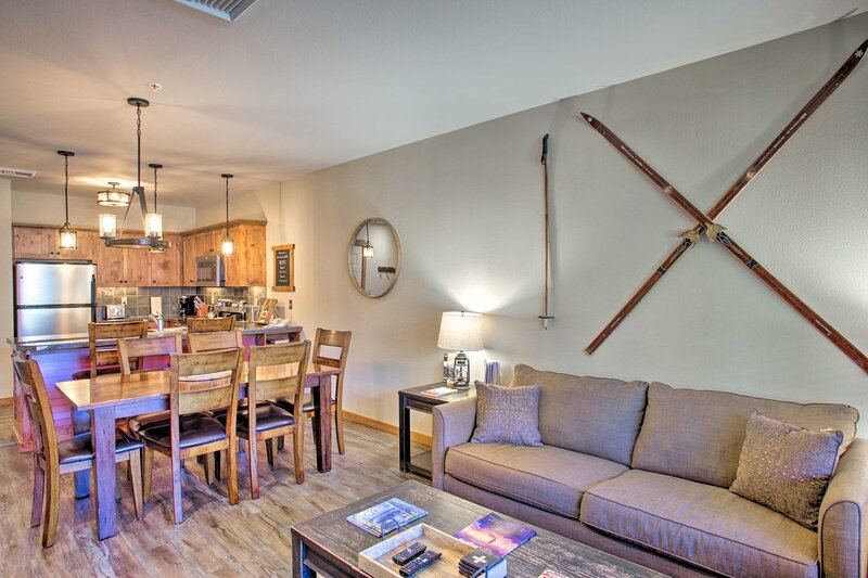NEW! Kellogg Condo: Walk to Silver Mtn Ski Lifts!, holiday rental in Kellogg