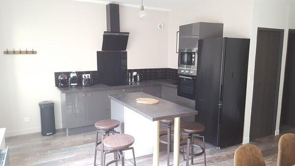 Appartement spacieux et atypique, alquiler vacacional en Bazeilles