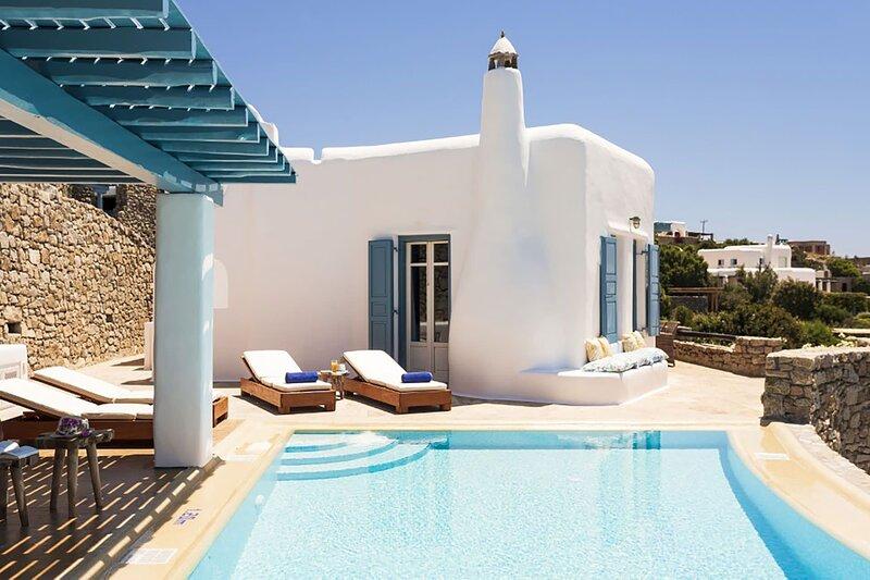 Villa Elpida, holiday rental in Psarou