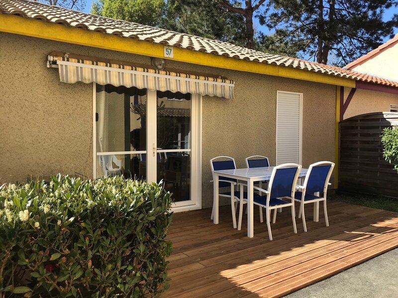 Maisonnette dans résidence de vacances, location de vacances à Vieux-Boucau-les-Bains