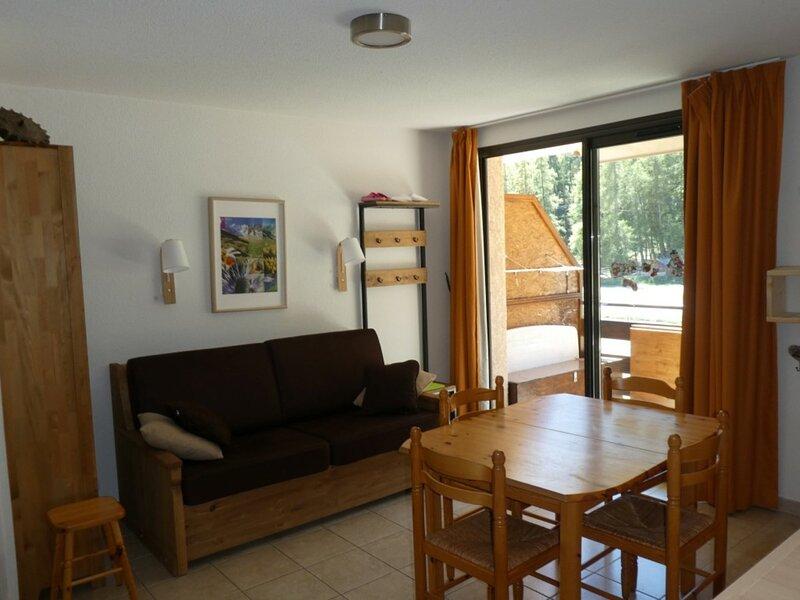Appartement 6 personnes T2 + coin montagne accès extérieur Gardette Réallon A7, alquiler de vacaciones en Reallon