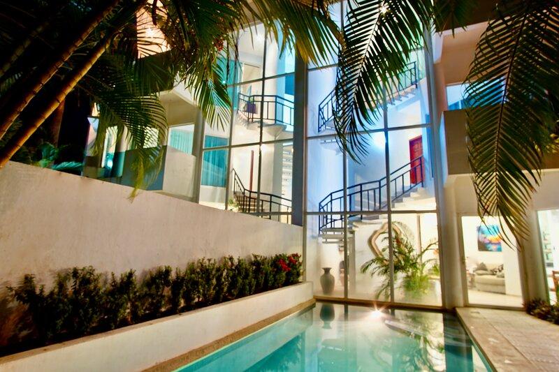 Casa Puesta del Sol Villa 2 Ocean View, holiday rental in Playa Langosta