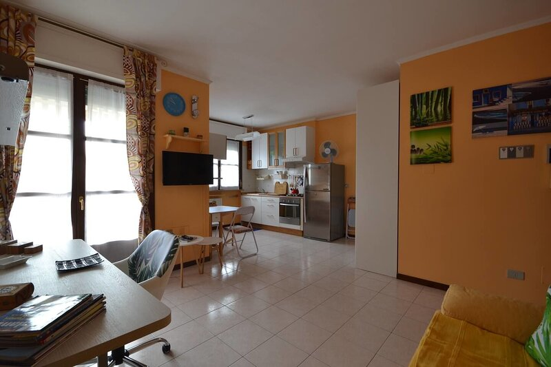 Beautiful apartment with balcony, vacation rental in Vercelli