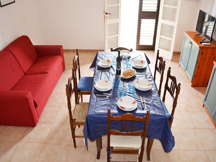 Appartamento 4/7 posti vicino spiaggia a San Foca-LL39, holiday rental in Roca Vecchia