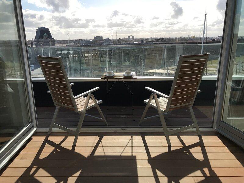 Appartement Catamaran in de Jachthaven van Oostende, location de vacances à Ostende