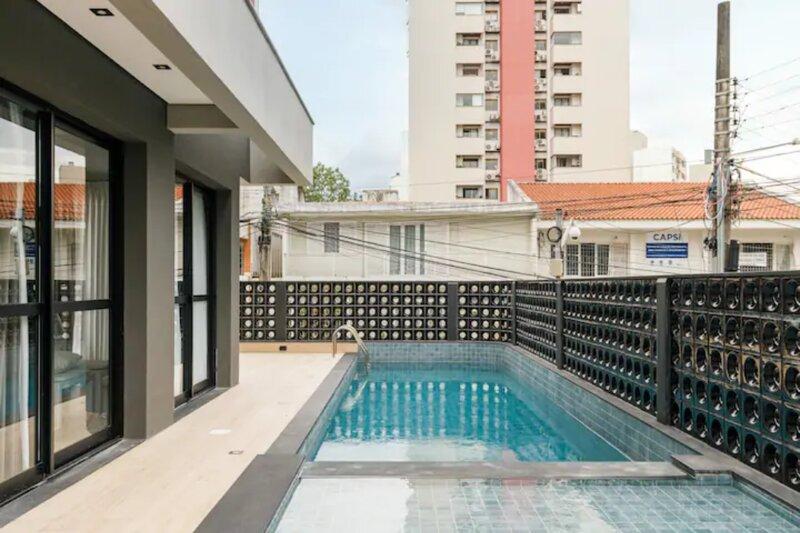 tania 406 - anual - roomin | Studio moderno próximo a Beira Mar, location de vacances à Sao Jose
