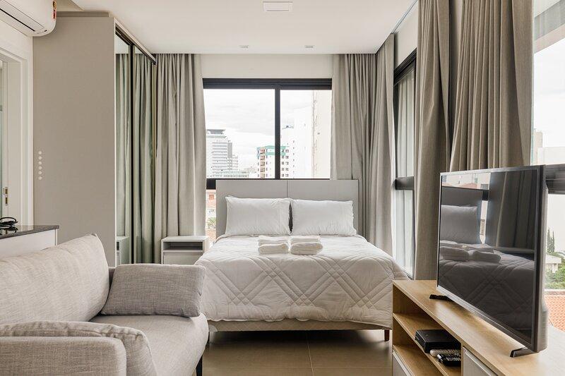 roomin | Studio moderno com vista para a Beira Mar, location de vacances à Sao Jose