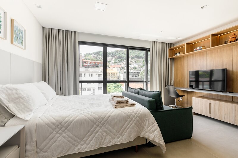 roomin | Studio sofisticado próximo a Beira Mar, location de vacances à Sao Jose