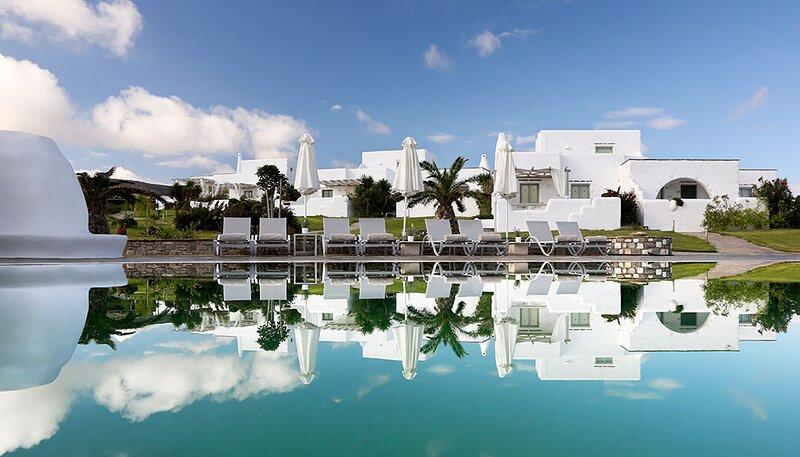 Asterias Villa, cycladic style, luxury, sea view, holiday rental in Kolimpithres