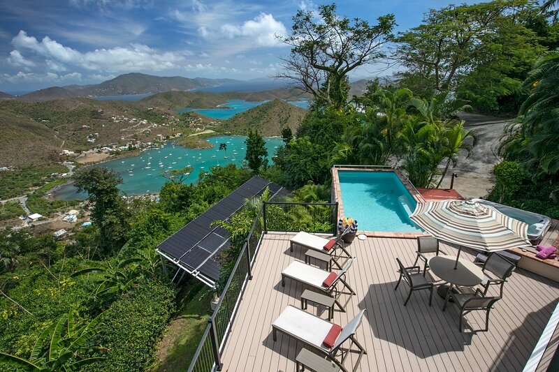 Coral Rays - Stunning Island Style Headquarters, vacation rental in St. John