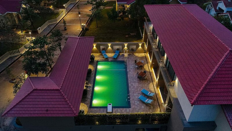 Marigold Villa by Vista Rooms, holiday rental in Lavasa