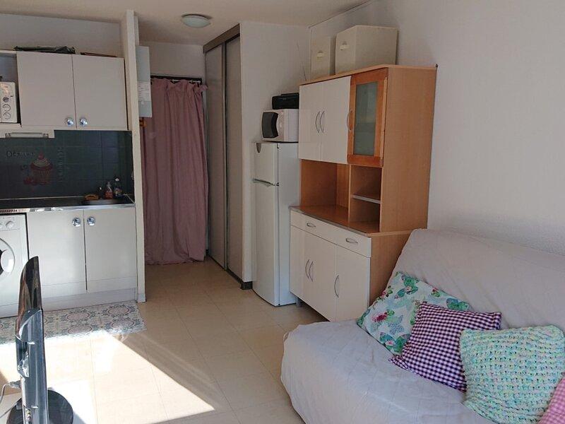 Bel Appartement 5 personnes pied des pistes 243R Le Relais Réallon, holiday rental in Reallon