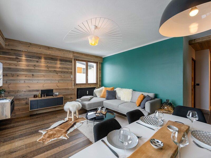 Charmant appartement situé en plein coeur de Megève., casa vacanza a Megève