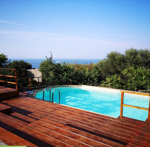 Villa Rachele ,entire 19th century villa , private parking, pool, garden, beach, holiday rental in Marina di Puolo