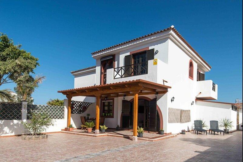 Villa in Agaete private terrace 6 people free wifi, holiday rental in Puerto de las Nieves