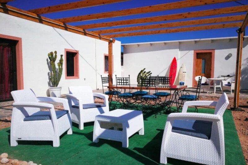 Villa Sol Lajares Jardín y terraza WIFi fiber by Lightbooking, location de vacances à Lajares