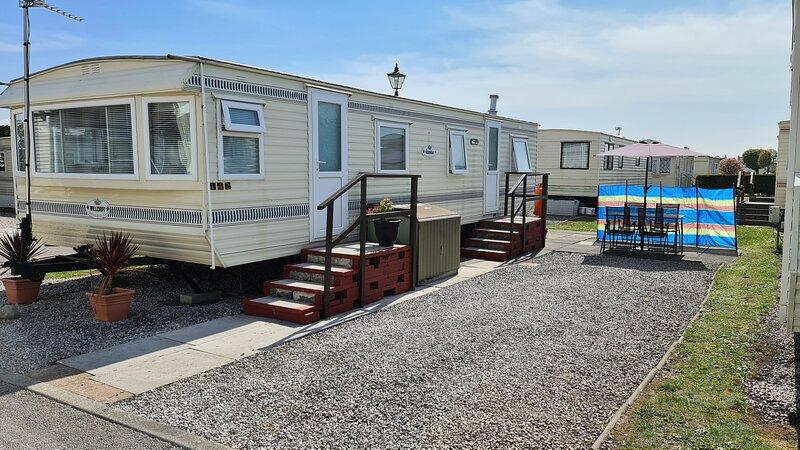 Whole caravan for hire at Westgate Caravan Park, Morecambe. (Private Rental), holiday rental in Lancaster District