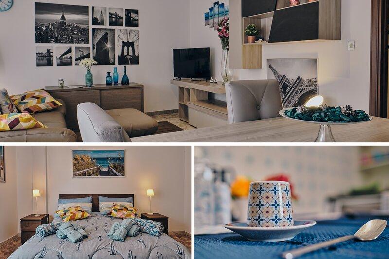Asariel splendido appartamento vista mare e centro città, holiday rental in Brindisi