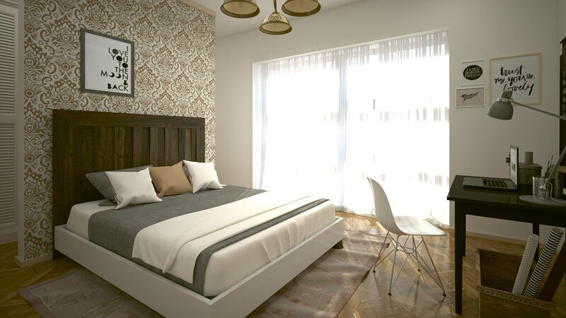 FURNISHED 2BED ROOMS SELF CONTAIN  AND HALL, holiday rental in Oyarifa