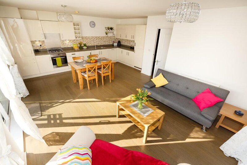 Luxurious Addenbrookes Trumpington Apartment with Balcony & Parking & Sleeps 6, location de vacances à Saffron Walden